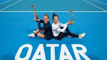 杜哈女網賽奪本季第3冠 謝淑薇重返女雙球后