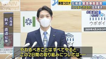 責任我負!北海道知事脫口罩正臉曝 起底超狂背景