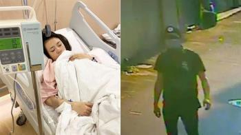 抓到了!蔡阿嘎載孕妻遭襲擊 2嫌遭逮送警局訊問