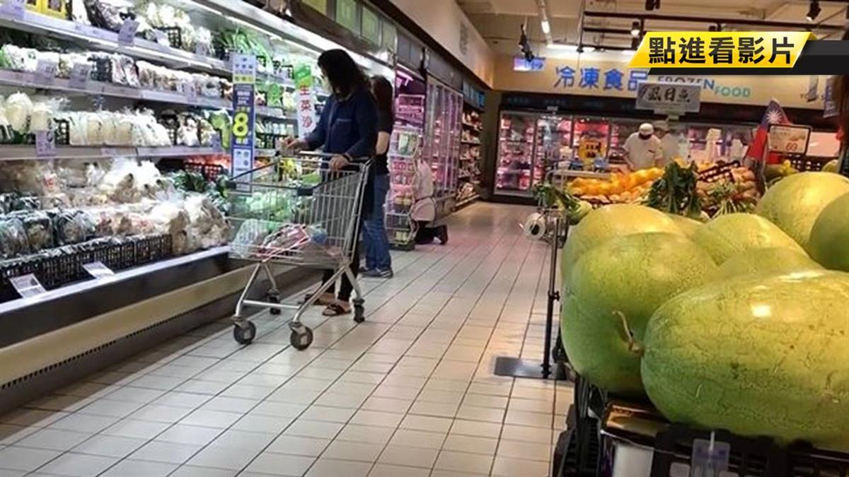 蔬果裸賣菌量易超標 消費時避免重複觸碰