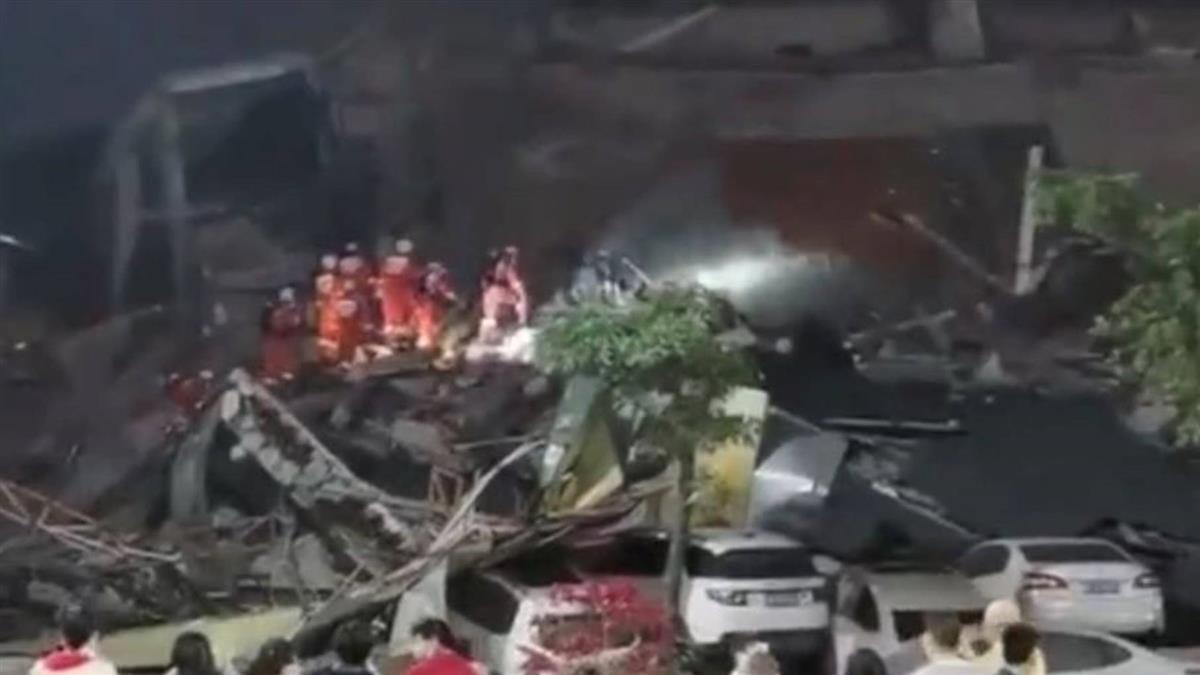 福建酒店驚傳坍塌!70人遭埋 疑為武肺隔離點