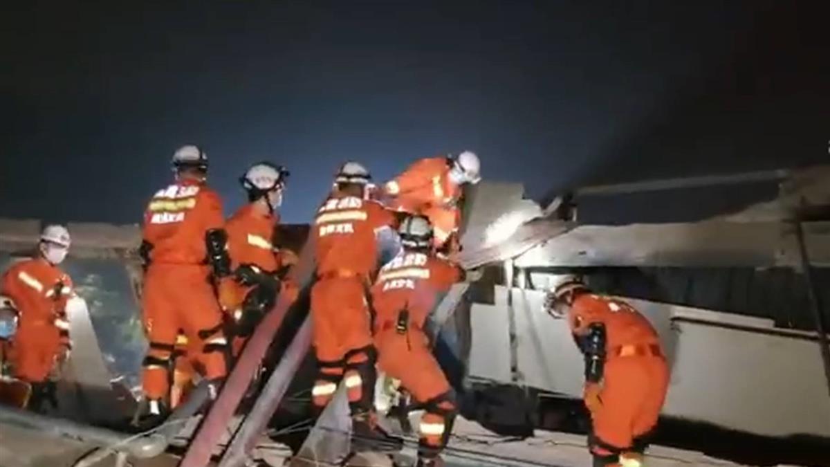泉州酒店塌70人受困!目擊者還原驚險瞬間