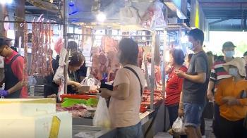 直擊傳統市場!減少外食 買菜備足一週量的人變多