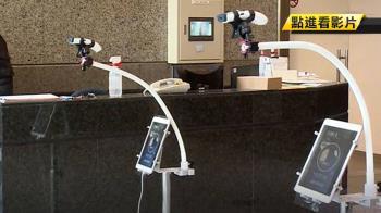 「自動額溫測量站」免近距離測量降低感染風險但較貴