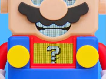 任天堂與樂高聯手 神秘影片曝光瑪利歐新玩具