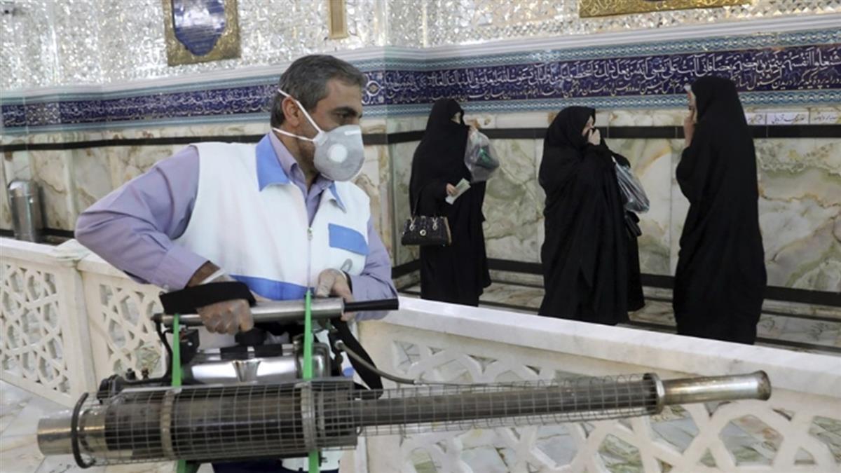 伊朗武肺確診破1萬例 累計429死