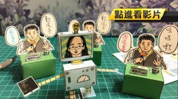 阿中部長Q版紙模後第二彈 唐鳳化身機器人
