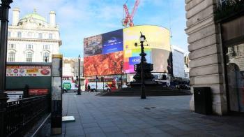 肺炎疫情:倫敦人去樓空原來是這個模樣