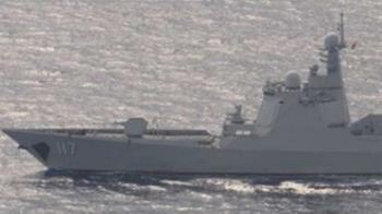 傳共軍4軍艦航經台灣東部!國防部終於說話了