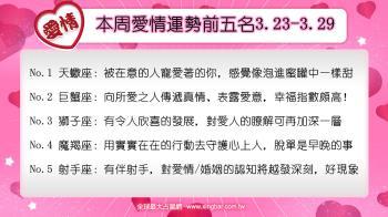 12星座本周愛情吉日吉時(3.23-3.29)