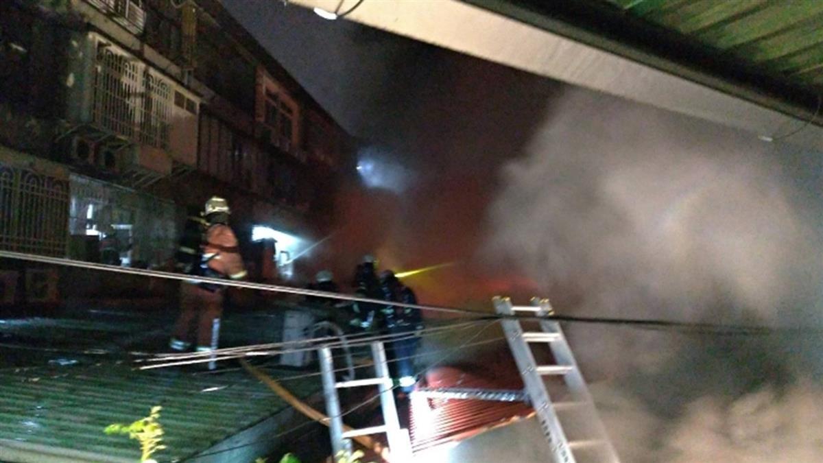 快訊/板橋5樓公寓驚傳火警!初步調查無人受困