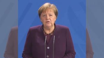 德國總理梅克爾與確診醫師接觸 今起居家隔離