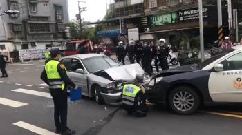 板橋傳12聲槍響 !3警遭毒販衝撞 破窗逮人