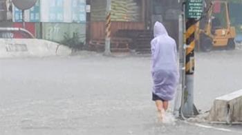 16縣市豪大雨特報 南投水里積水、下冰雹