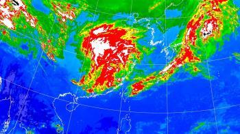 這天起降溫10度!東北季風增強 全台大雨熱區出爐