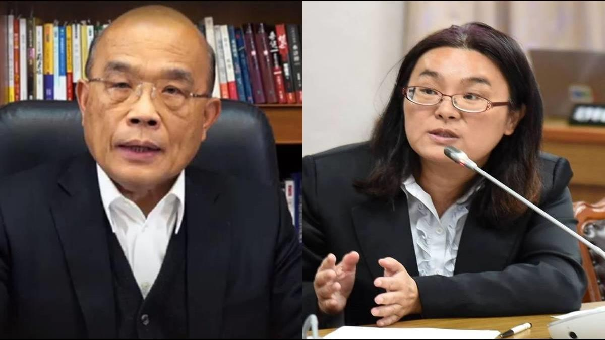 遭批「沒資格當議員」 陳玉珍回嗆蘇貞昌:你也不是台灣國行政院長