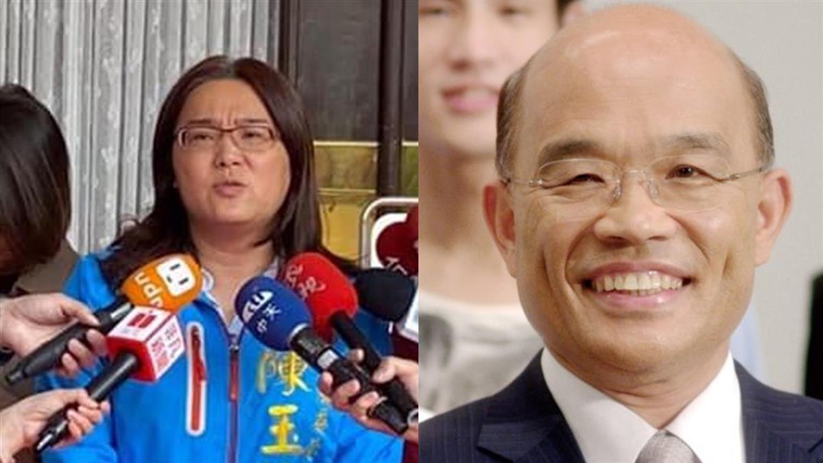 陳玉珍舌戰蘇貞昌 還原稱「台灣不是國家」現場