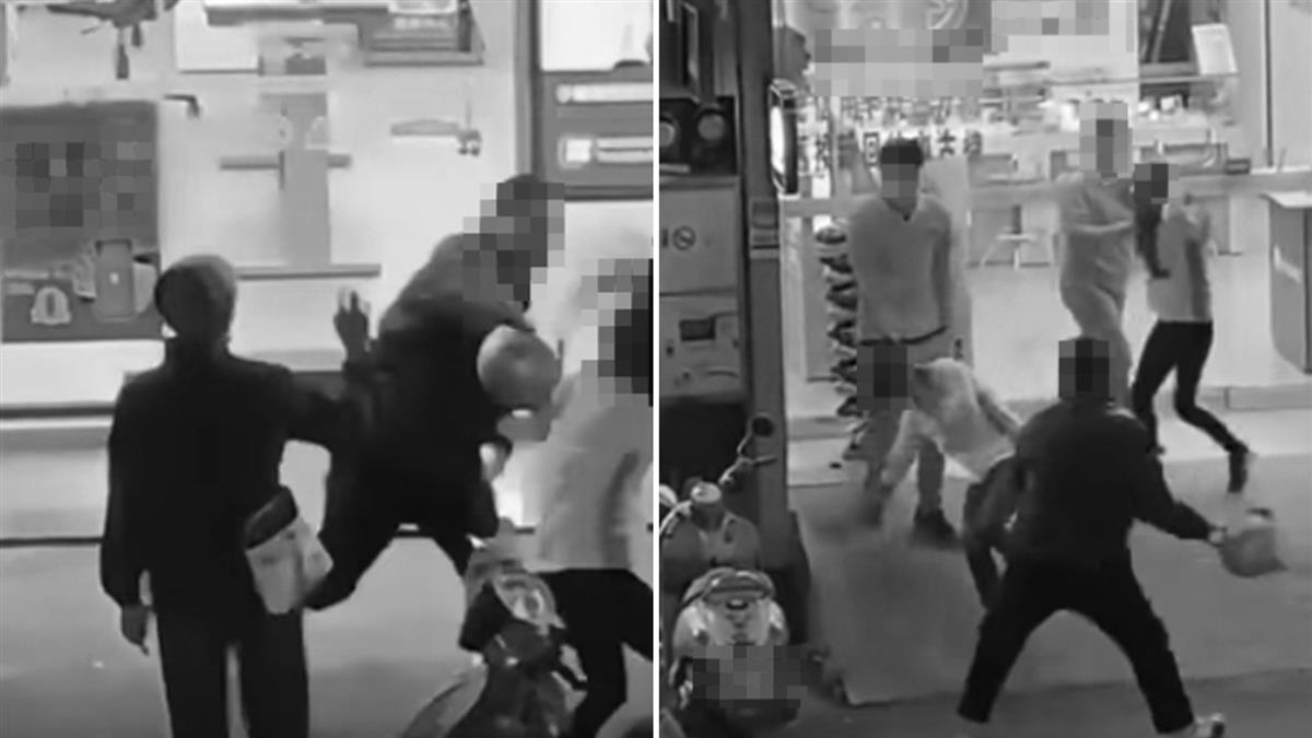不滿女店員服務 男竟拿安全帽猛砸:要叫警察?