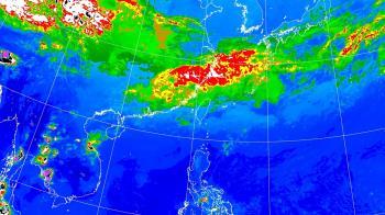 連假大雨到!一張圖看降雨熱區 這天起低溫下探16度