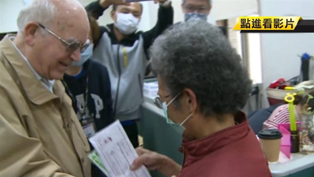 義籍神父求援家鄉疫情告急 8旬賣菜嬤捐一周所得