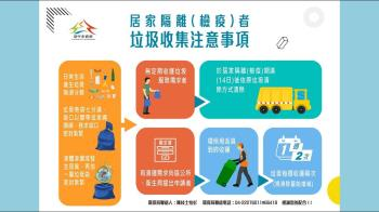 居家隔離、檢疫如何清垃圾?中市府環保局:提供到府收運服務