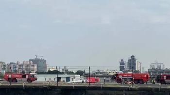 小港機場海豚直升機墜地 空勤初判人為操作不當