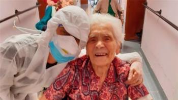 21名院友病逝!104歲確診嬤 戰勝2大世紀病毒