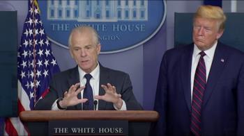 白宮顧問曾示警武肺恐大爆發 川普:沒看過這備忘錄