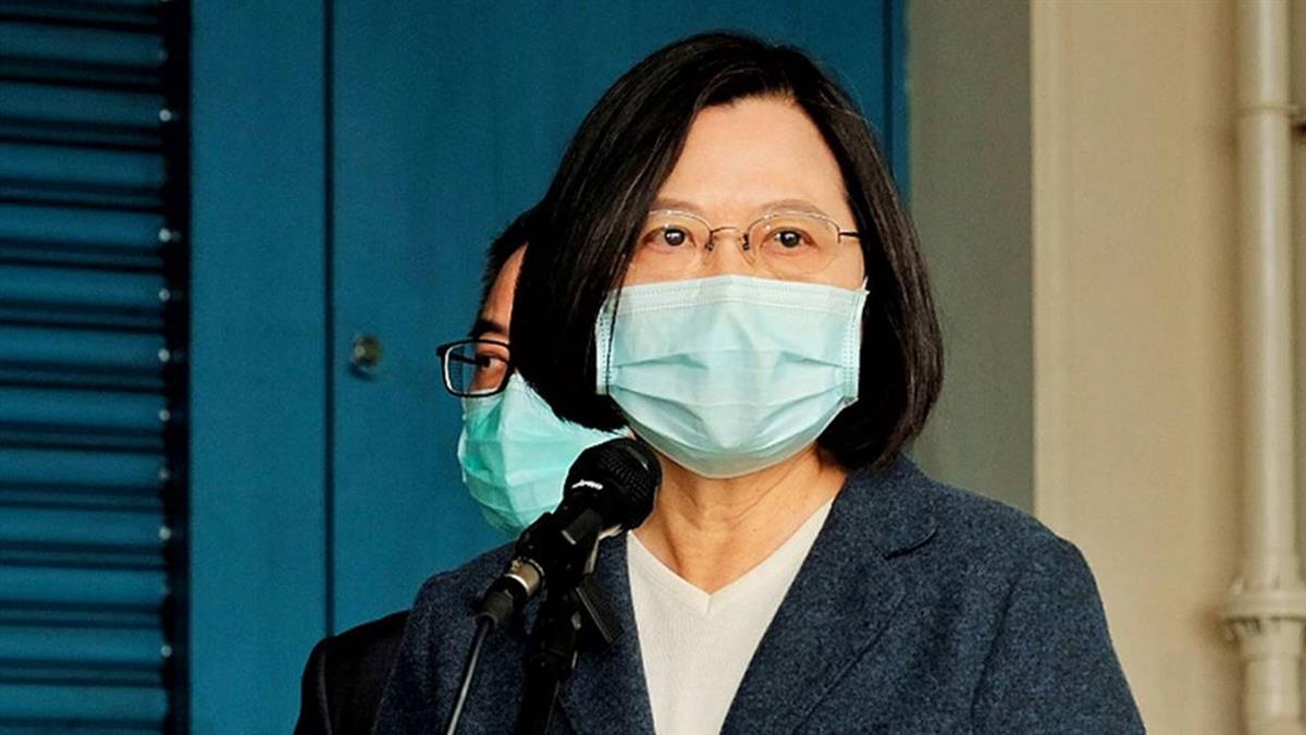 蔡總統:台灣願協助全球防疫 不應被政治凌駕