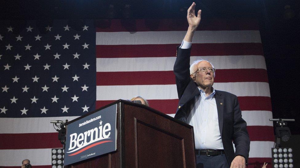 2020年美國大選:桑德斯宣佈退出競選