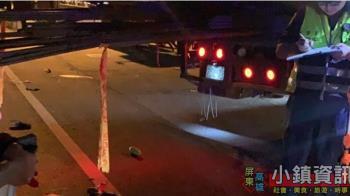 驚悚!機車聯結車相撞 騎士鋼筋插頭慘死