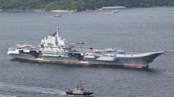 大陸遼寧艦現身台灣東部外海 日本警戒