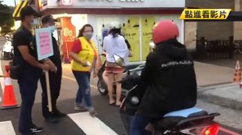 墾丁大街防疫升級 未戴口罩騎士及遊客遭攔下
