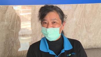 夾斷指後復工口罩國家隊 顏女展台灣女性堅毅
