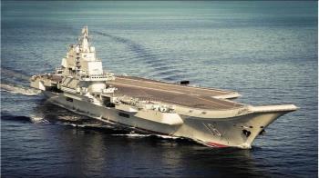 中國大陸證實遼寧號航艦已通過巴士海峽