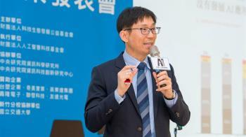 台灣資料科學教父  陳昇瑋推動AI發展留未竟之志