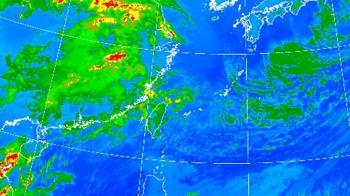 冷氣團減弱回溫到週末! 一張圖看降雨熱區