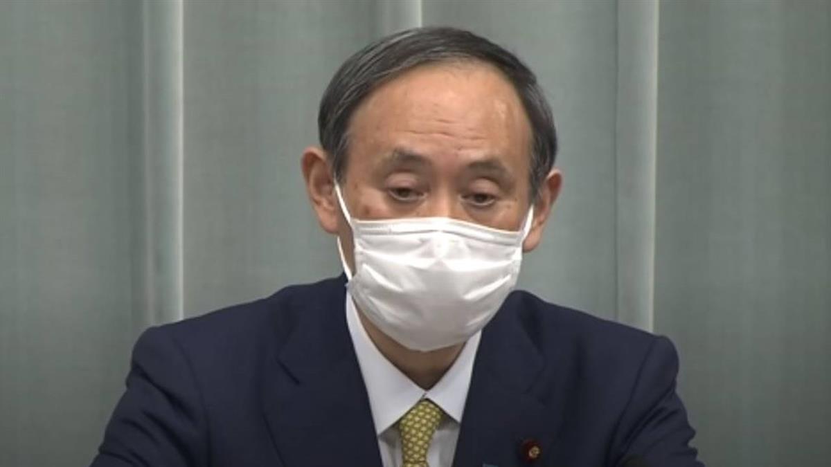 日政府發言人菅義偉咳嗽 記者憂心問健康狀況