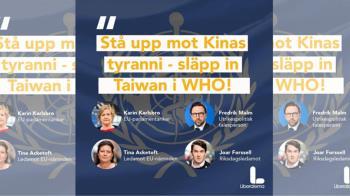 瑞典4議員公開挺台!陸大使不滿說話了