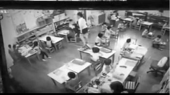 施暴影片曝光!   台中幼兒園老師扯童髮還巴頭
