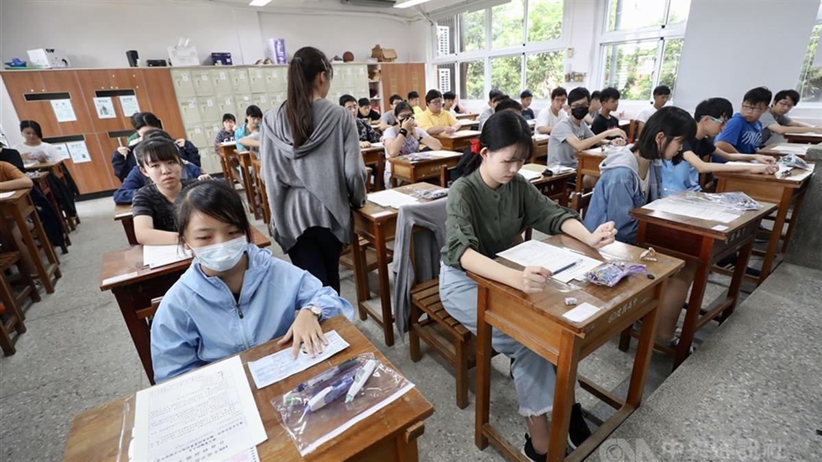 四技二專統測第二天  考試期間須全程戴口罩