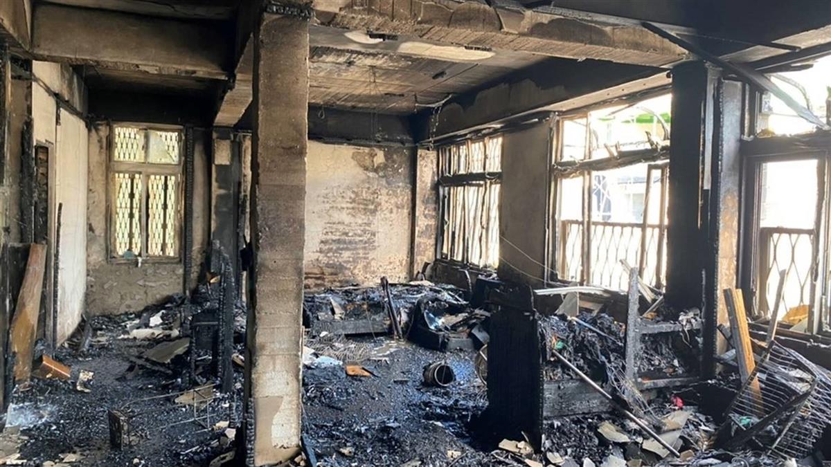 名醫賴文德住處火警5死 惡火吞噬現場照曝