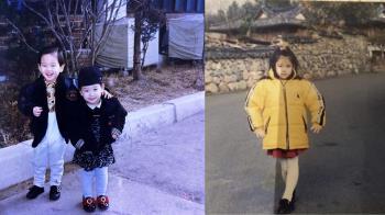 認得出來嗎?IU、太妍齊曬童年照 超嫩萌樣曝光