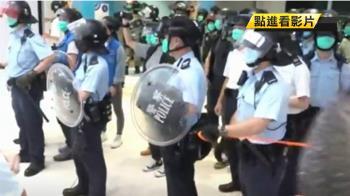 天水圍商場示威者聚集 反送中行動捲土重來
