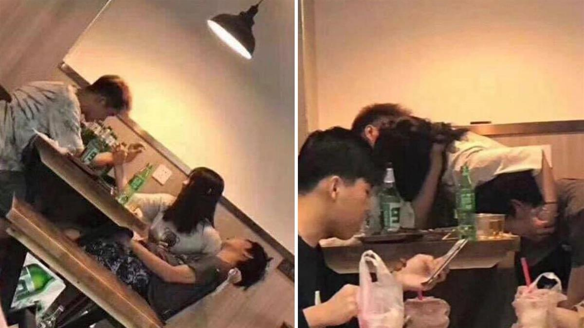 男被灌醉癱倒...兄弟突告白女友 下秒牽手激吻!