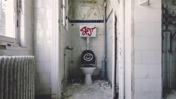 沖馬桶細菌飛滿天 醫師點出使用公廁3大風險