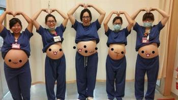 5個圓肚!護理師媽媽隊堅守ICU 照片曝光好催淚