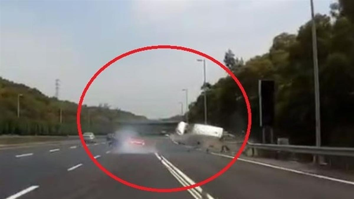 國道3號車禍!5歲男童遭甩出車外 驚悚畫面嚇壞民眾