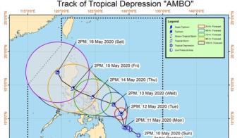 黃蜂颱風24hrs內生成!專家曝:五月中下旬天氣不穩