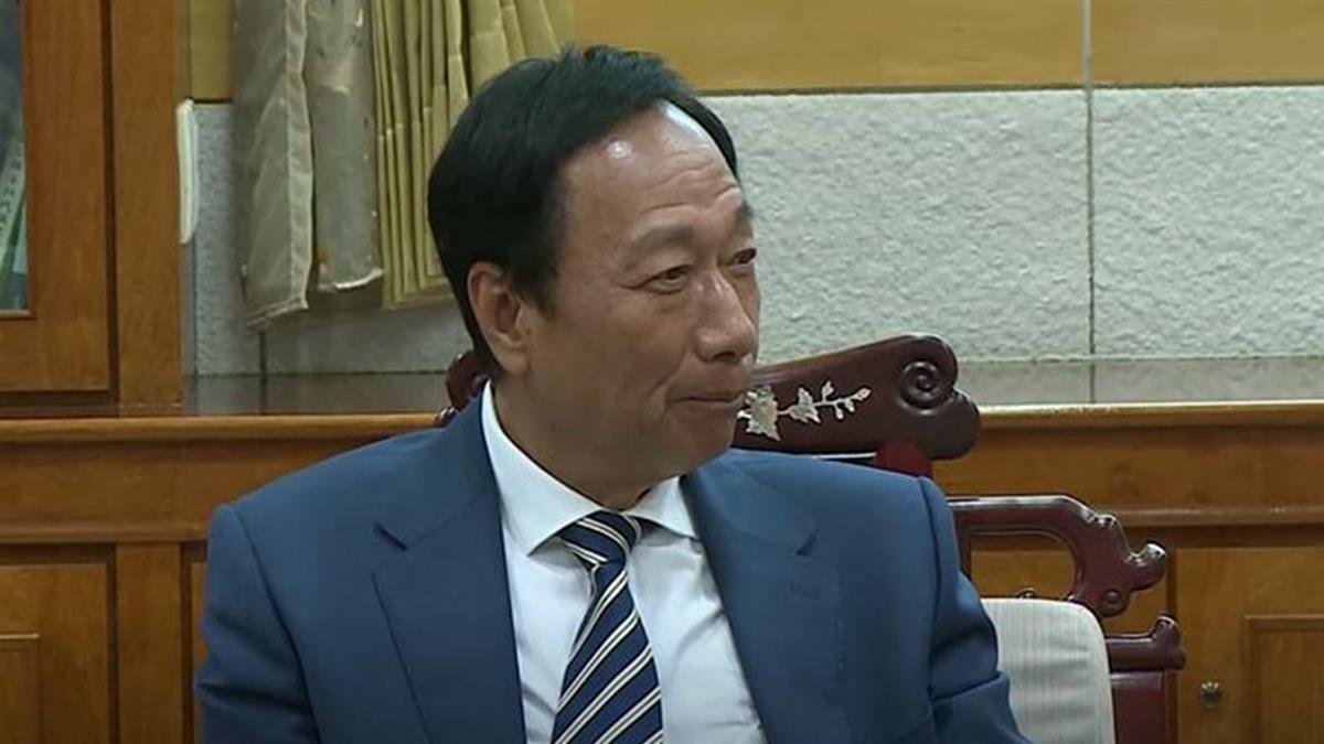 鴻海擬配息4.2元 估郭台銘56億元股息入袋